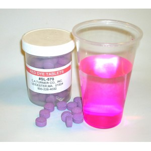 SL-570 Dye Tablets-Red