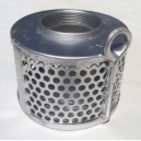 "3-1591  3"" Strainer- Round Hole Less Chain"