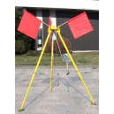 T1-R50 Tripod Non Collapsible with 50' Rope